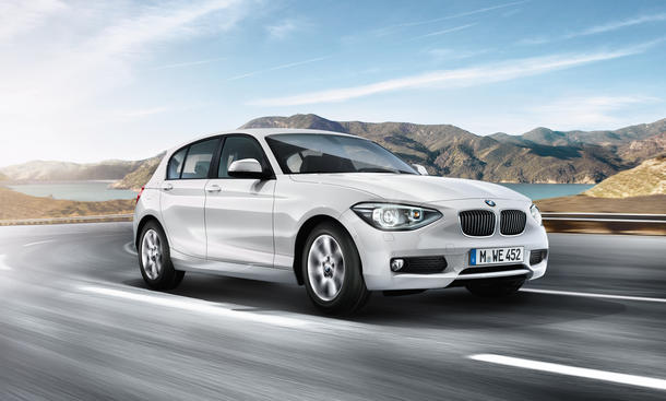 BMW 116d EfficientDynamics Edition 2012