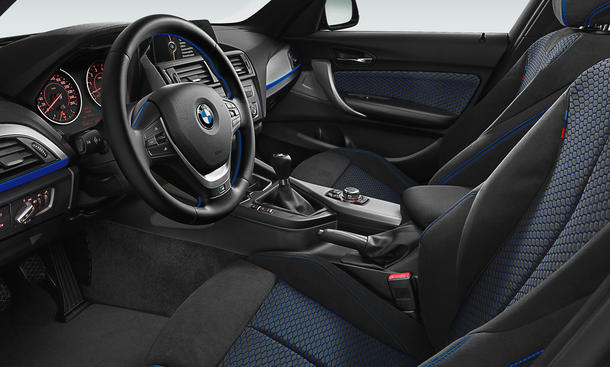 BMW 125i 125d 2012 Auto Salon Genf M Sportpaket M Paket Innenraum