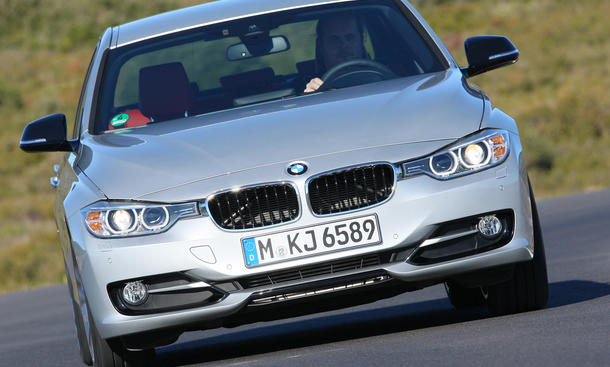 BMW 320d - Fahrdynamik