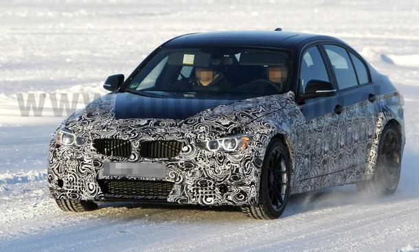 BMW M3 2013 Erlkönig 2012