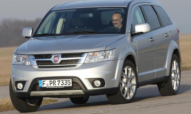 Bilder Fiat Freemont 2.0 16V Multijet Marktstart