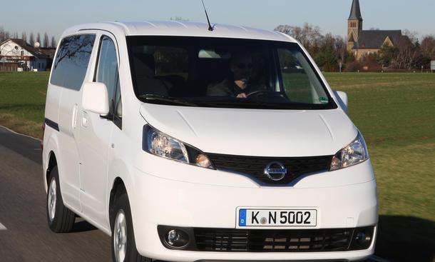 Bilder Nissan Evalia 1.5 dCi 110 2012 Markteinführung