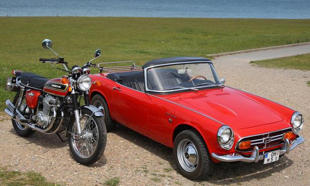 Ikonen: Honda S800 und Honda CB 750 Four