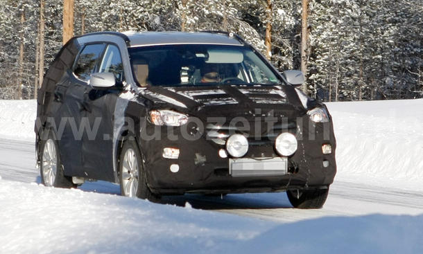 Hyundai ix45 Erlkönig 2013 Kompakt-SUV
