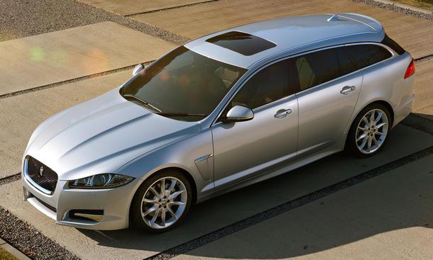 jaguar xf sportbrake luxus kombi auf auto salon genf 2012 bild 4. Black Bedroom Furniture Sets. Home Design Ideas