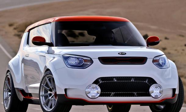 Kia Trackster Concept Chicago Auto Show 2012