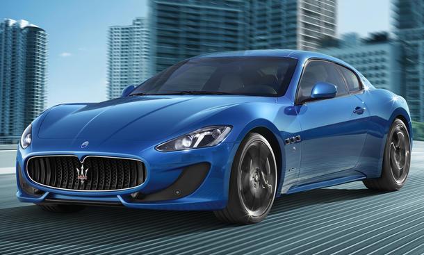 Maserati GranTurismo Facelift 2012 Auto Salon Genf Sportcoupé Sportwagen Gran Turismo