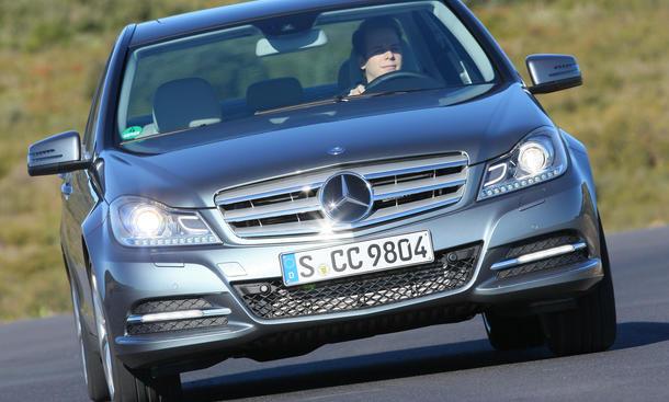 Mercedes C 220 CDI BlueEfficiency - Fahrsicherheit