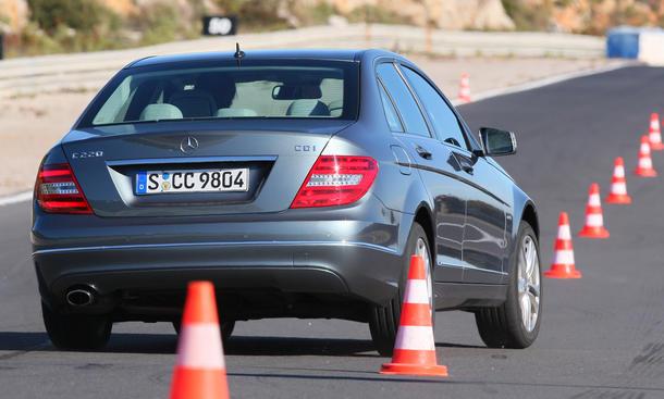BMW 320d und Mercedes C 220 CDI im Test