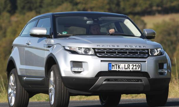 Range Rover Evoque Si4 Coupé - Coupé-Version