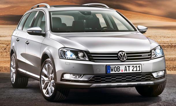 VW Passat Alltrack 2012 Preise Preis Euro
