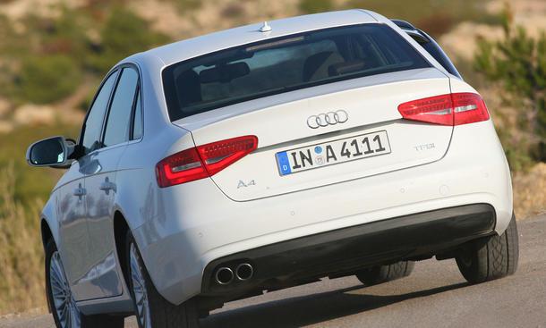 Audi A4 1.8 TFSI - Servounterstützung