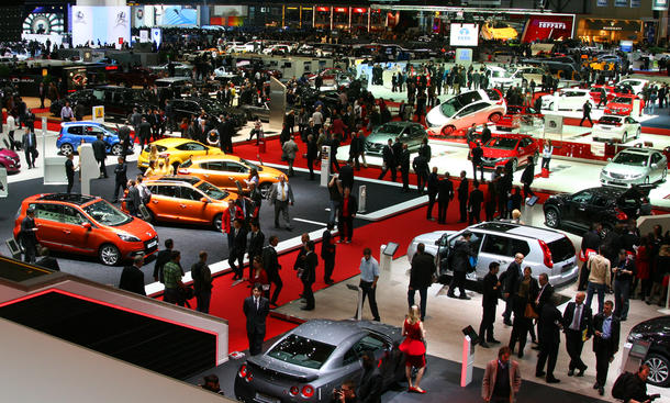 Auto Salon Genf 2012 Highlights Messerundgang Fotos Bilder