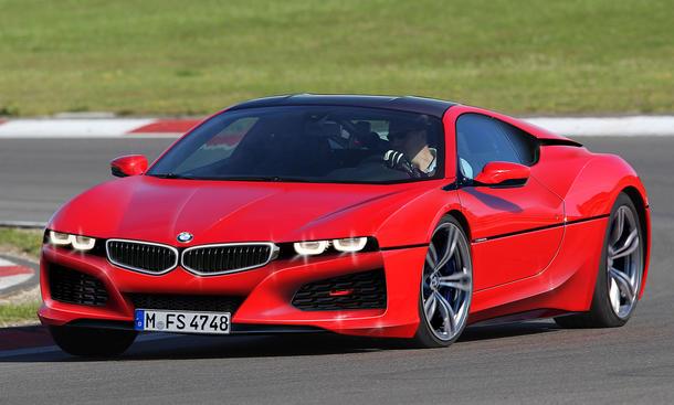 BMW M1- Mittelmotor-Supersportler