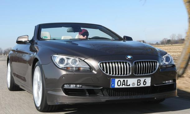 Bilder BMW Alpina B6 Biturbo Cabrio 2012 Fahrbericht