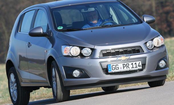 Chevrolet Aveo 1.3 - Kleinwagen
