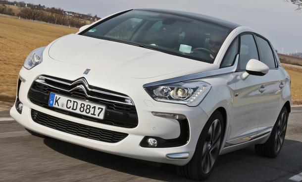 Bilder Citroën DS5 Hybrid4 2012 Test Leistung Verbrauch