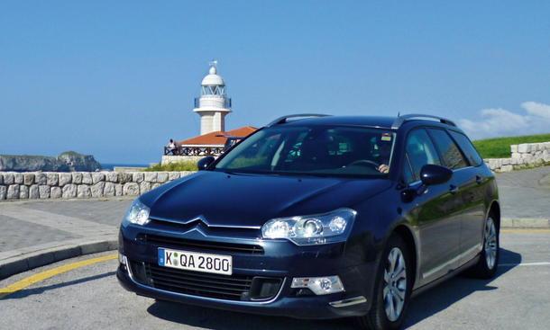 Bilder Citroën C5 Tourer HDi 140 FAP Dauertest