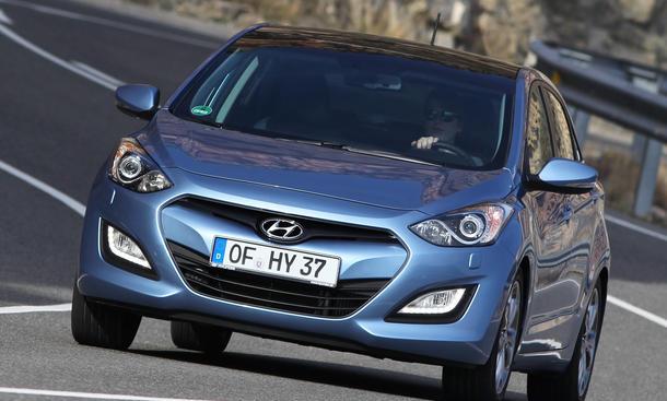 Bilder Hyundai i30 1.6 GDI 2012 Fahrbericht Markteinführung