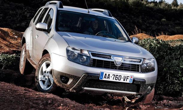 Dacia Duster Preis 2012 billiger reduziert
