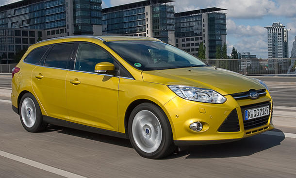 Ford Focus Turnier 1.0 EcoBoost - Dreizylinder-Focus