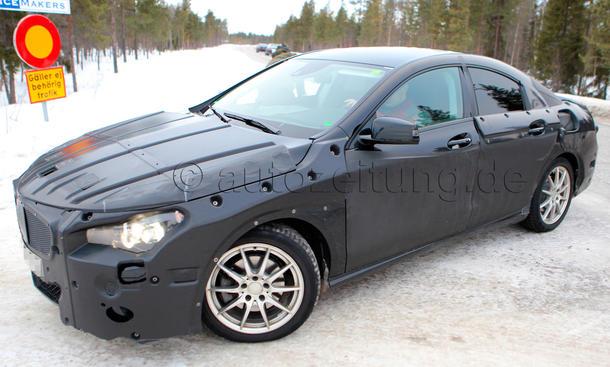 Mercedes CLC 2013 Erlkönig Limousine A-Klasse Frontantrieb Mini-CLS