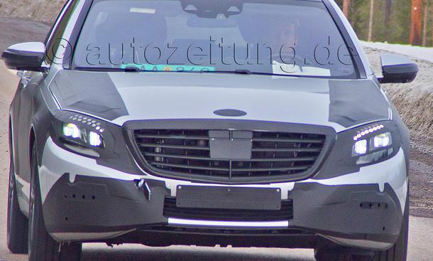 Mercedes S-Klasse 2013 Erlkönig Prototyp