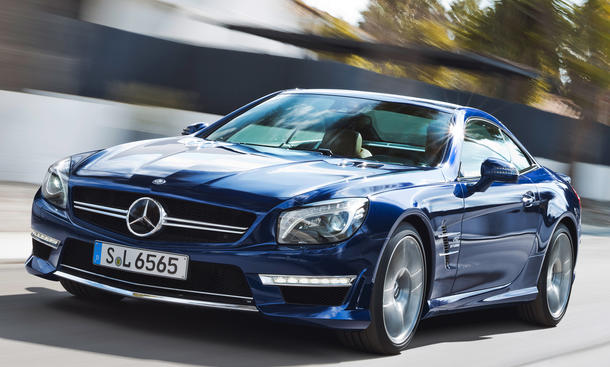 Mercedes SL 65 AMG: Roadster mit V12-Biturbo in New York