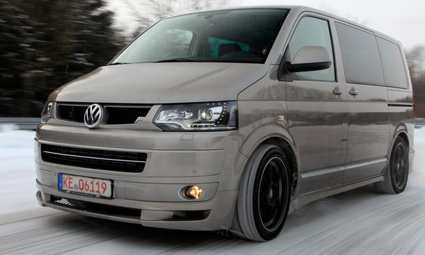 vw abt t5 2 0 tsi 4motion im tuning test. Black Bedroom Furniture Sets. Home Design Ideas