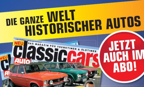 AUTO ZEITUNG Classic Cars: Abo