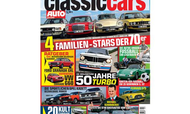 CLASSIC CARS AUTOZEITUNG 3/2012 - Titelstories