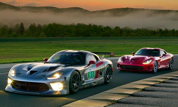 2013 SRT Viper GTS-R ALMS 2012 Motorsport