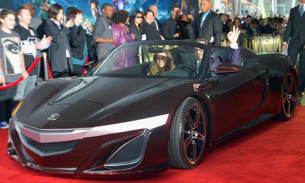 Acura NSX Roadster The Avengers 2012 Kino