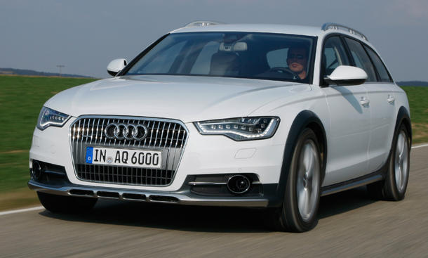 Audi A6 allroad quattro 3.0 TDI - Unterfahrschutz