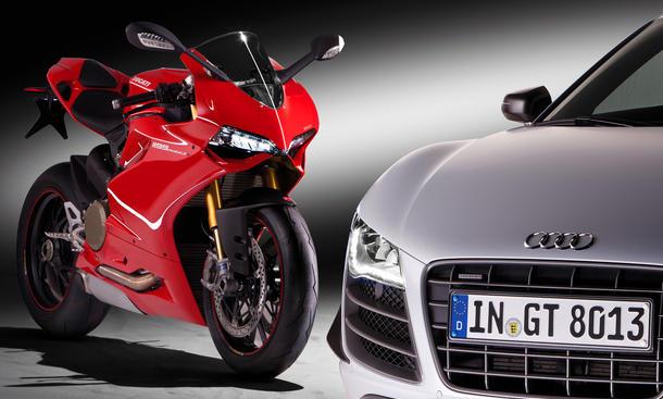 Ducati Audi Übernahme 2012 VW Volkswagen Motorrad Motorräder Kauf