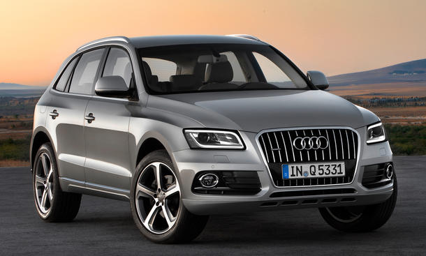 Audi Q5 2012 Facelift Preis
