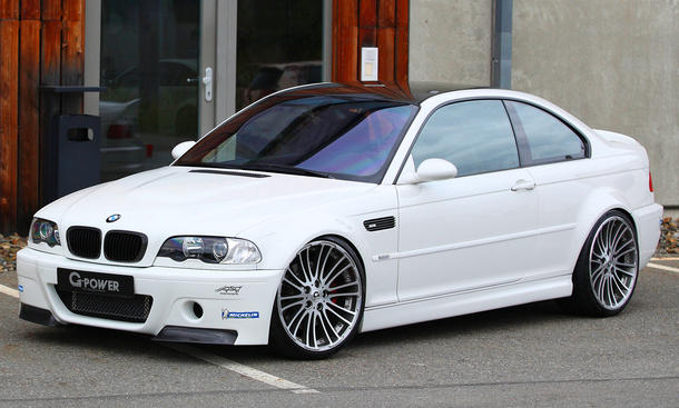BMW M3 E46 Tuning G-Power Kompressor Leistungssteigerung