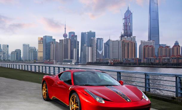 Ferrari 458 20th Anniversary Special Edition 2012 China Drache Longma Sondermodell