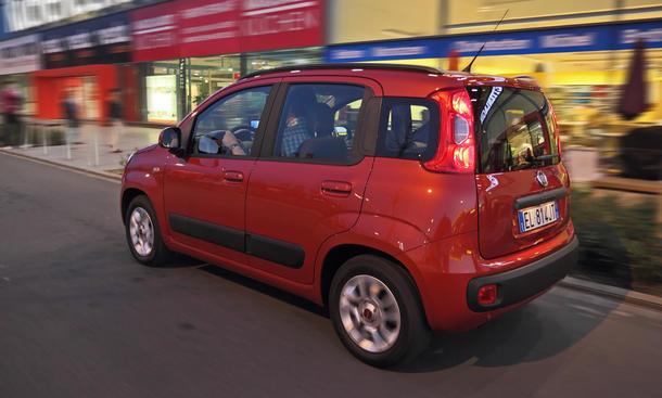 Fiat Panda 0.9 8V TwinAir - Kleinwagenadel