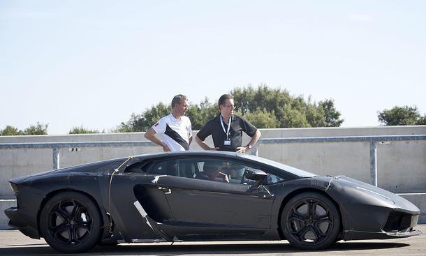Porsche Nardo Teststrecke Testgelände Übernahme