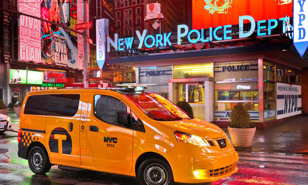 New York Taxi 2012 Nissan NV200 NY City Cab 2012