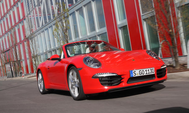 Porsche 911 Carrera Cabriolet - Konsumverhalten