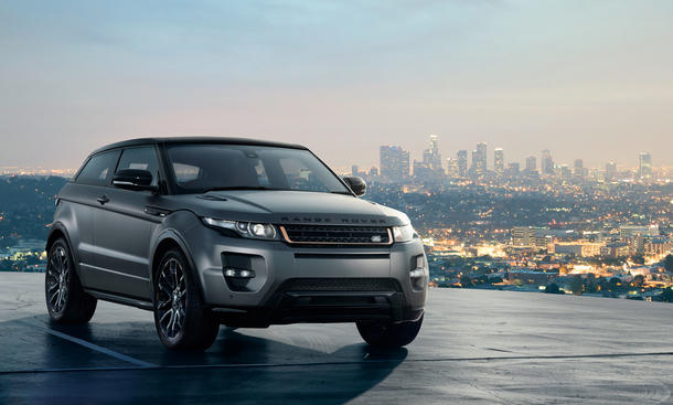 Range Rover Evoque by Victoria Beckham auf Auto China 2012
