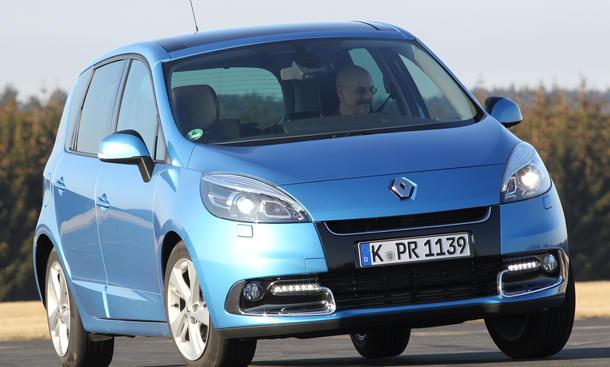 Renault Scénic Energy dCi 110 - Sicherheit