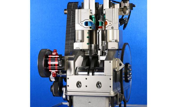 Scuderi Motor Split-Cycle-Engine Miller-Zyklus Patent Anmeldung 2012
