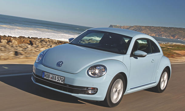 VW Beetle 1.6 TDI - CO2-Emission
