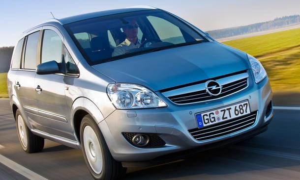 Opel Zafira Family 1.6 CNG ecoFLEX - Ratgeber Gasautos