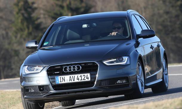Audi A4 Avant 3.0 TDI quattro clean diesel - Aerodynamik
