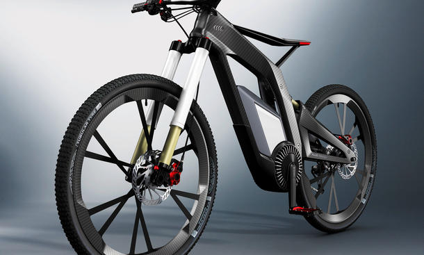 Audi E-Bike Stunt-Fahrrad 2012 Wörthersee Pedelec Elektro Carbon