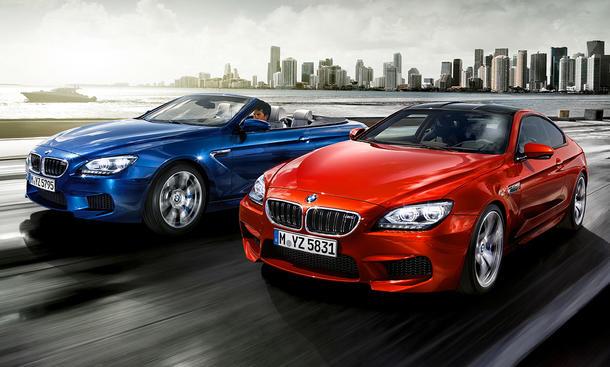 BMW M6 Coupé und Cabriolet Preise 2012